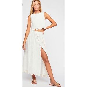 NWOT! Free People Absolute Goddess Skirt